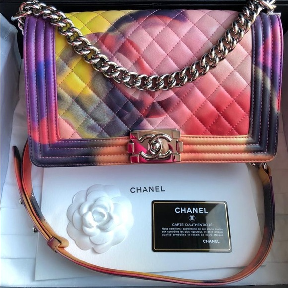 64bd33e0f1dc CHANEL Bags | Le Boy Old Medium Size Bag | Poshmark